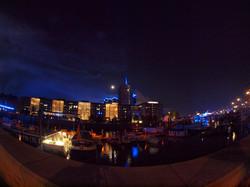 Hamburrger Hafen Panorama