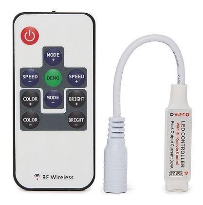 CONTROLADOR RGB CON CONTROL REMOTO