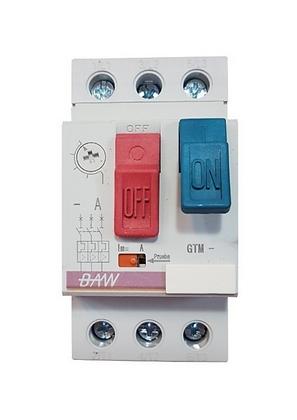 Guardamotor TM. 7,5kW. 13-18A. Icu:15kA. M/pulsadores
