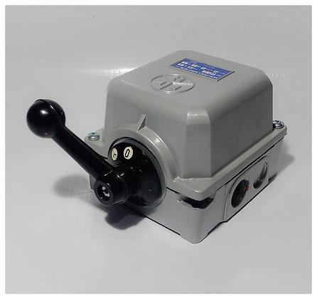 INTERRUPTOR  a levas en caja de aluminio 10 HP LC 7,5