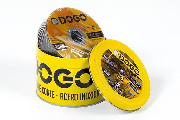DISCO DE CORTE AC. INOX. 115X1.0X22.2