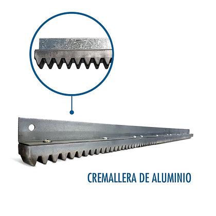 Cremallera de Aluminio 1mts