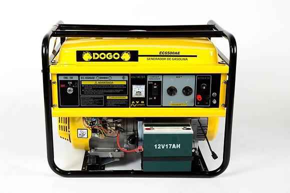 GENERADOR NAFTA 220V-EC6500AE-4T-A/ELECT. 5.5KVA