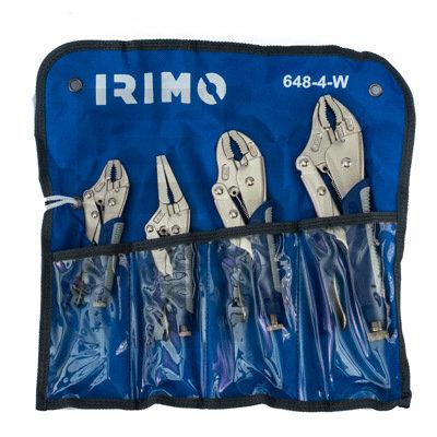 SET DE 4 PINZAS DE PRESION IRIMO 648-4-W
