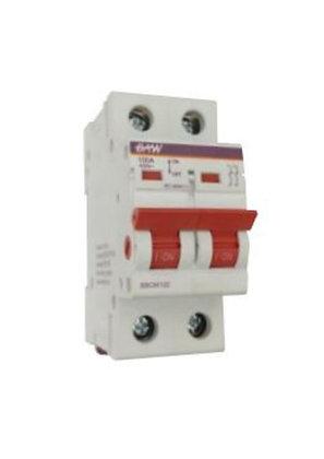 Interruptor manual tripolar .  100A 400V.