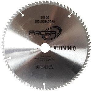 "Disco ingleteadora 10"" Aluminio"