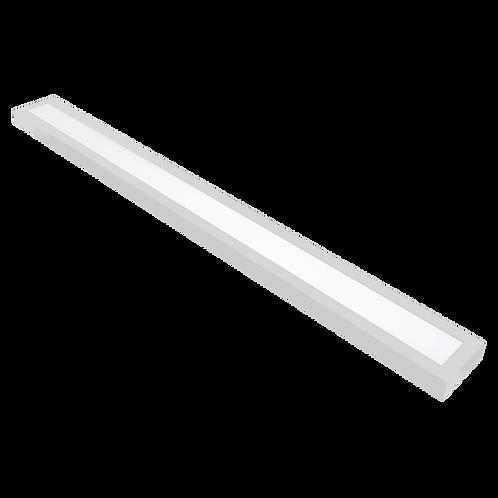 PLAFON RECTANGULAR 36W 1200X100mm blanco