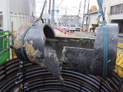 幹線汚水管破損修繕2