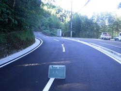 川口谷線道路改良工事(完成)