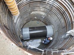 幹線汚水管破損修繕4