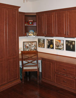 Desk and Murphy Bed (Spiced Fruit)