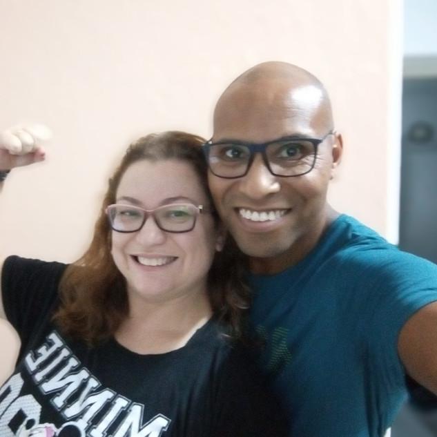 Professores Raquel e Jéferson