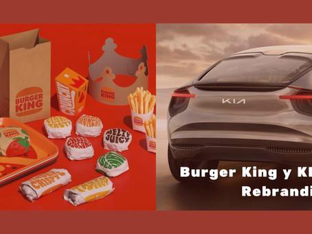 Burger King y KIA: Rebranding – muchos más que un logo
