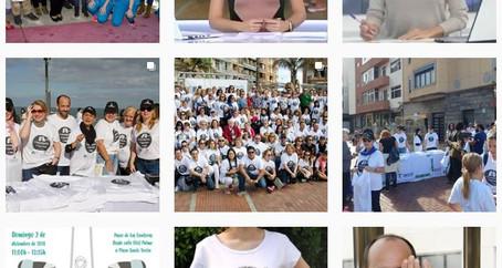 Silk contra el cáncer de pulmón en las redes sociales: el Grupo Canario de Cáncer de Pulmón