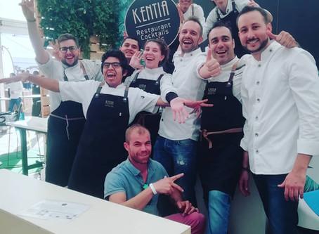 Stand en Saborea Lanzarote 2018 para Kentia Gourmet Club