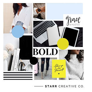 Black and White Must-have Moodboard Soci
