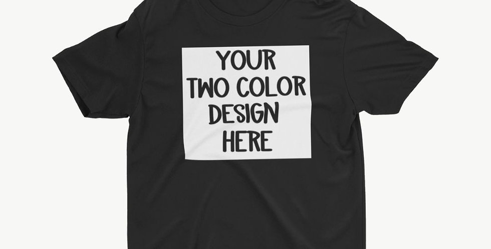 2 Color ADULT Customized Shirt