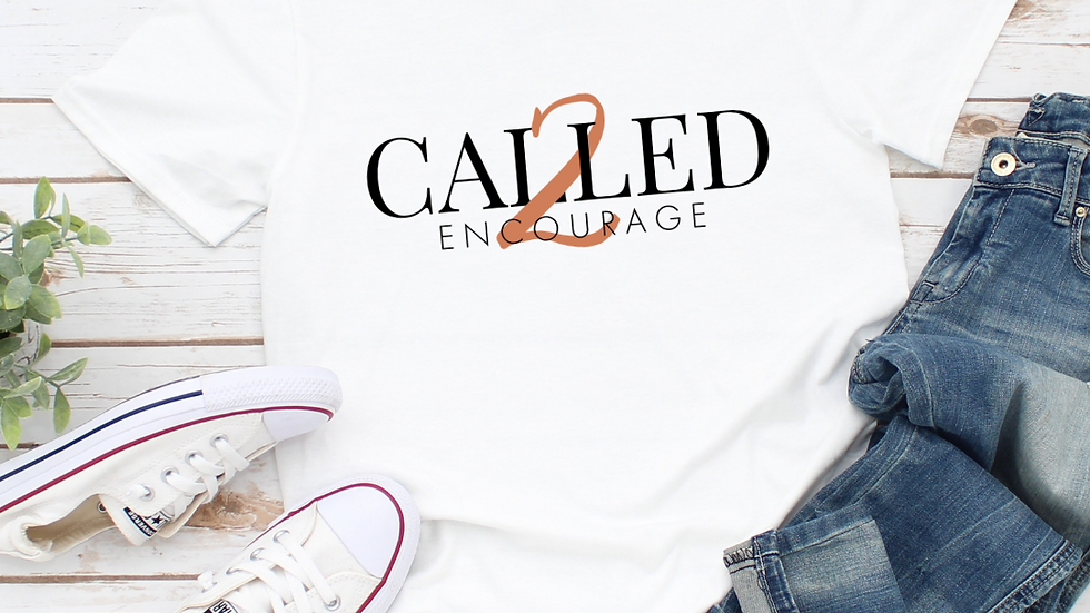 Called 2 Encourage  Encouragement Tee