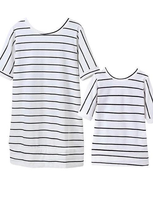 Wing Striped Dress *** Baby Girl ***