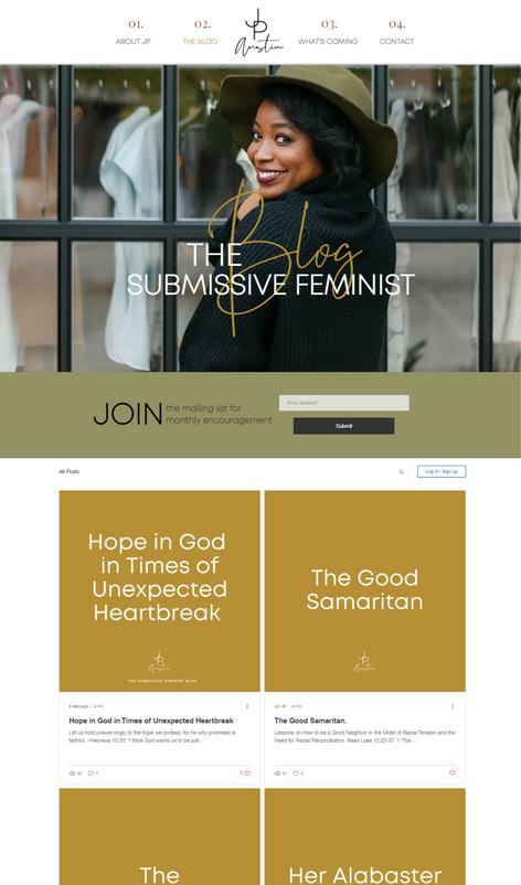 Jp Austin : The Submissive Feminist