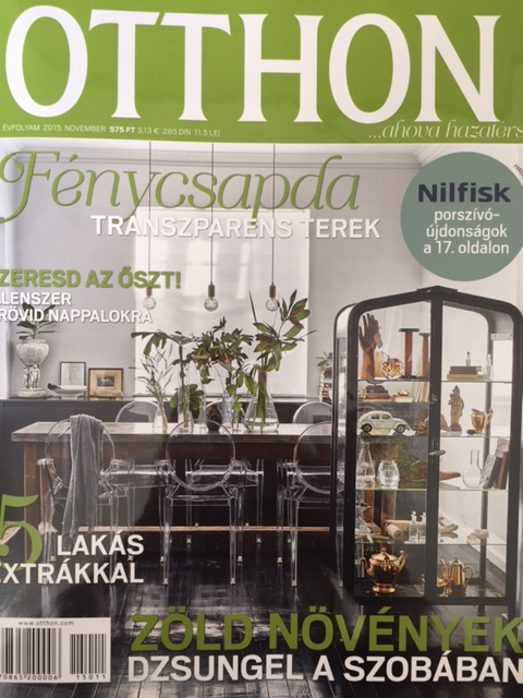 Otthon magazin 2015. November