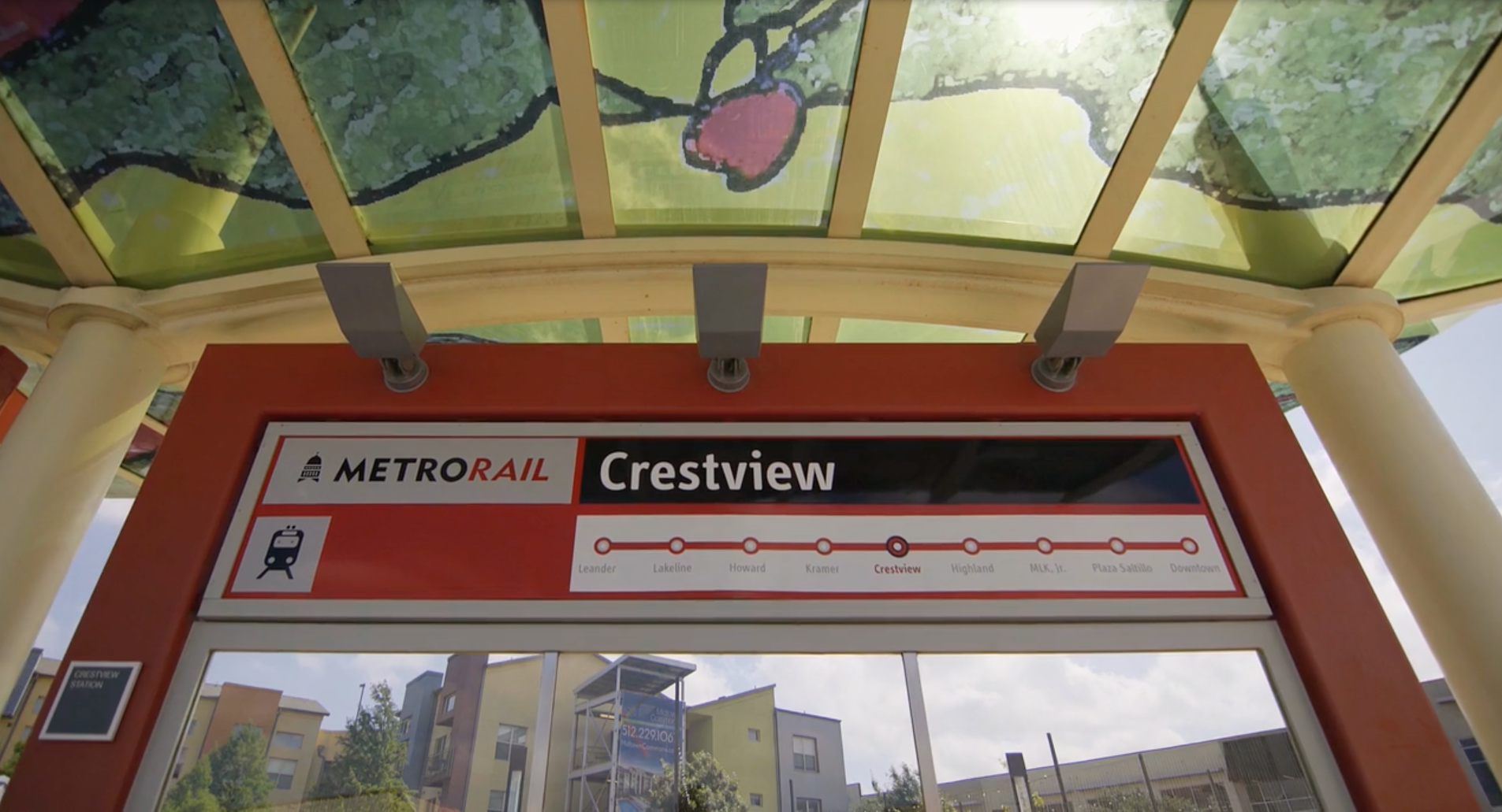 Crestview MetroRail Station