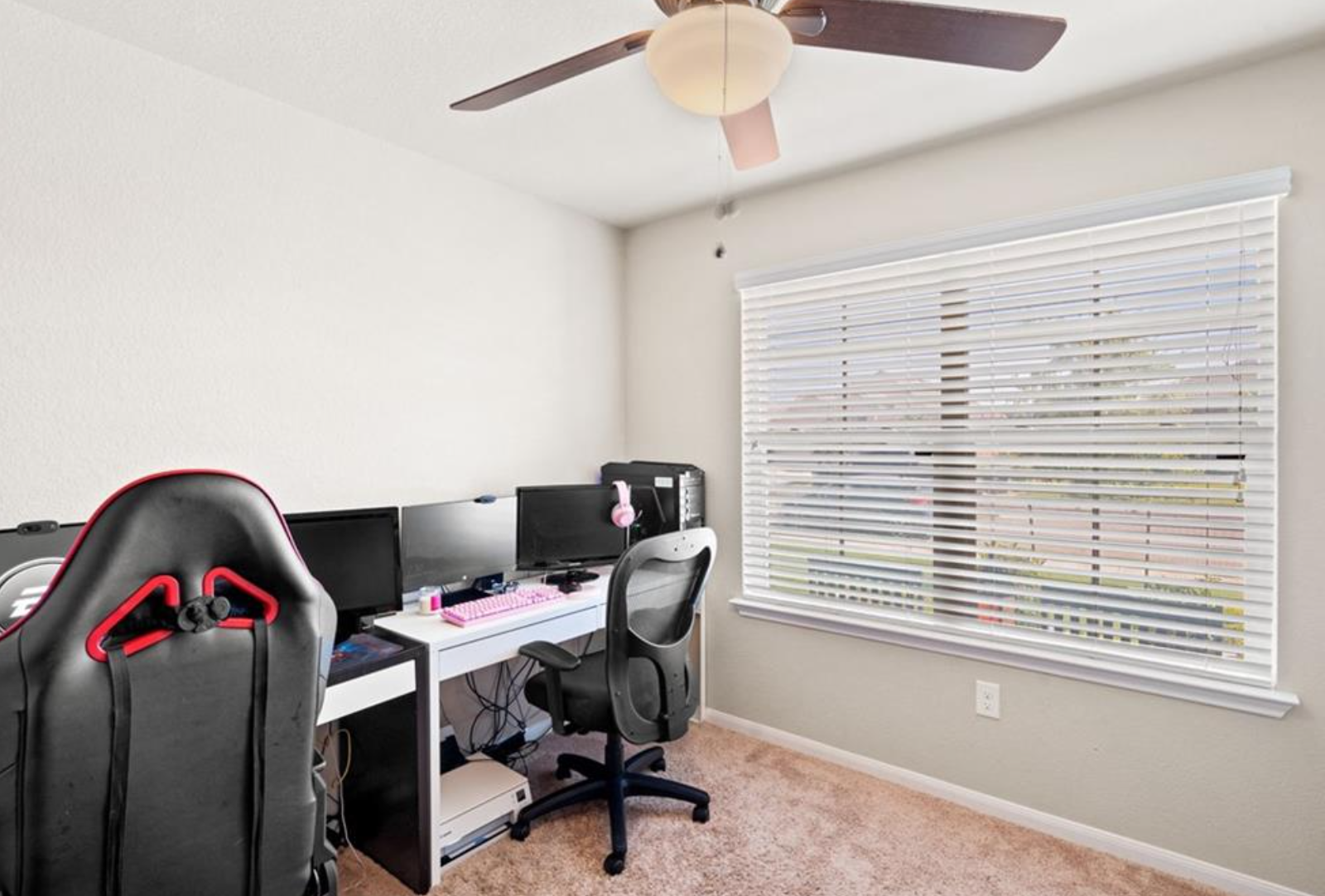 Secondary Bedroom or Office Space