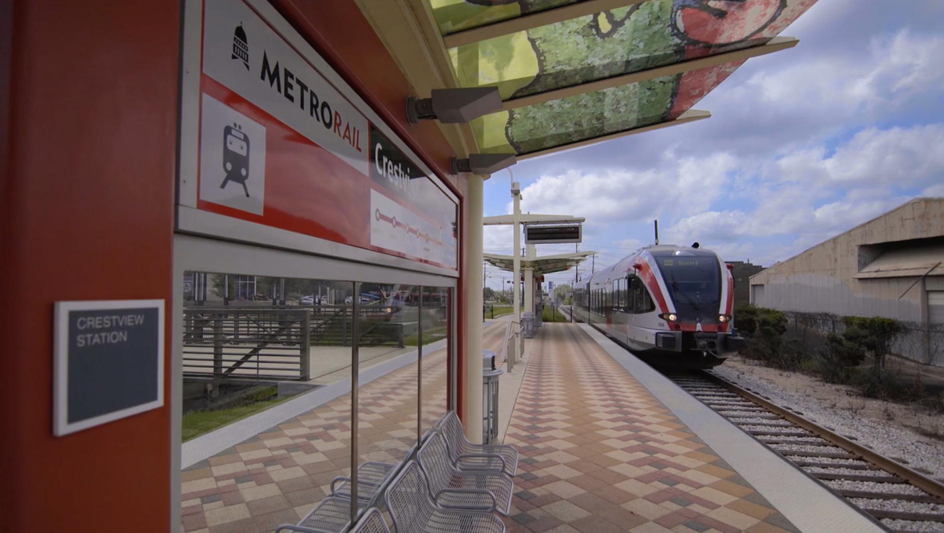 Close to MetroRail