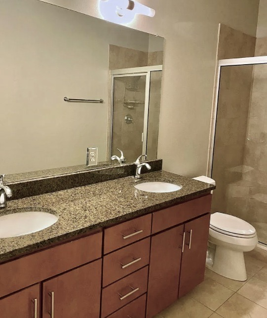 Dual Vanities, Walk-in Shower