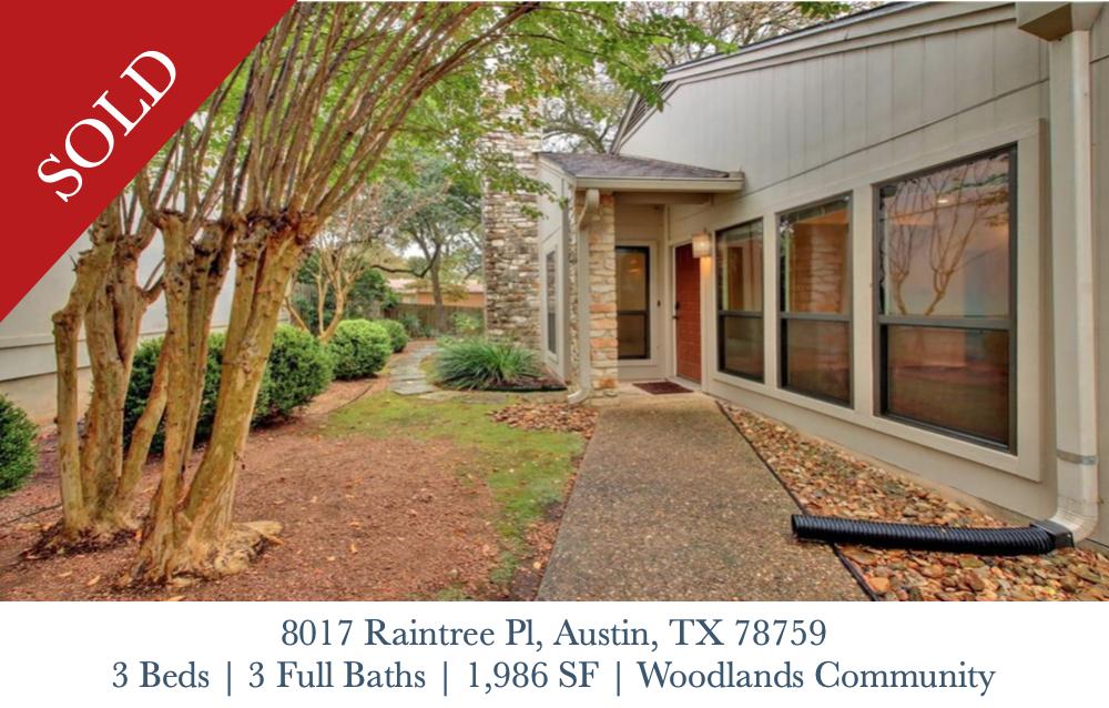Sold - 8017 Raintree