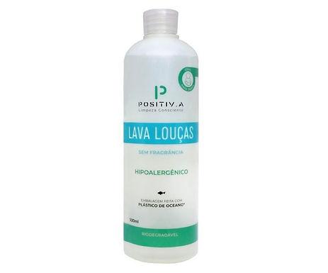 Lava Louças Positiva (sem fragrância) 500ml