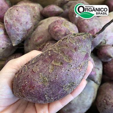 Batata Doce Roxa Orgânica 400g - 500g