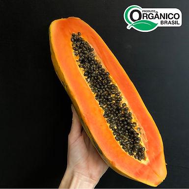 Mamão Formosa Orgânico 1-1,5kg