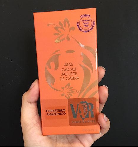 Chocolate 45% Cacau ao Leite e Cabra VAR - Un