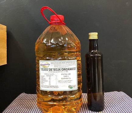 Óleo de Soja 500 ml+ garrafa de vidro