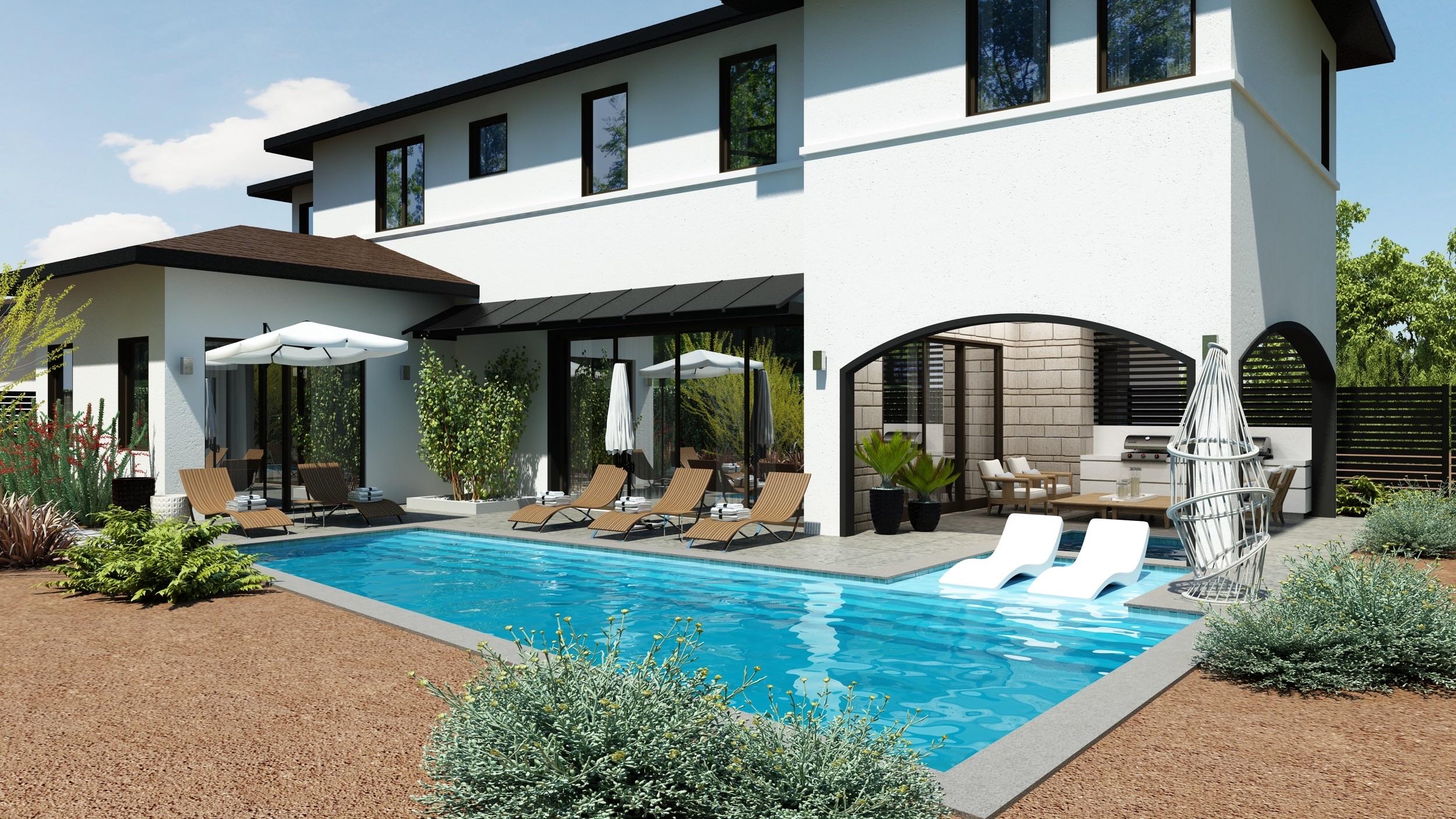 Gorgeous Pool for Entertaining