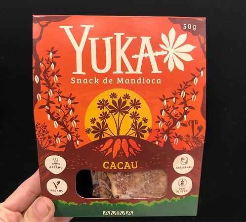 Snack de Mandioca Sabor Cacau - Un