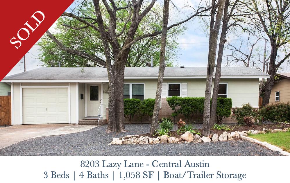Sold - 8203 Lazy Lane