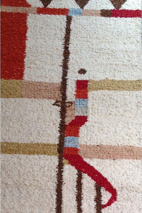 Hand Woven rug / wall Hanging: Maasai Geometric