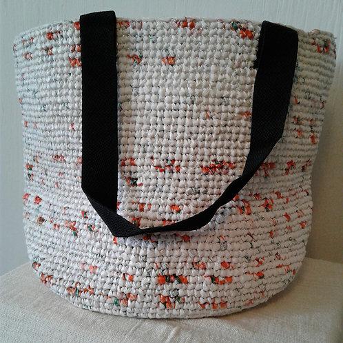 Large Soko Beach Bag: Speckled Orange