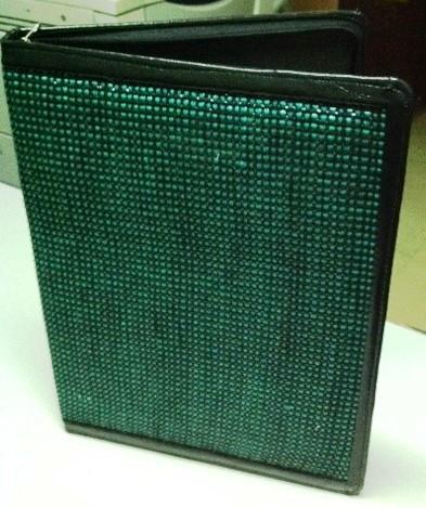 Green Woven Folder