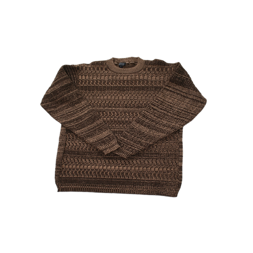 Double Gauged Knit Sweater