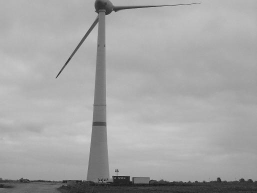 Vermessung Rotorblatt, Windenergieanlage