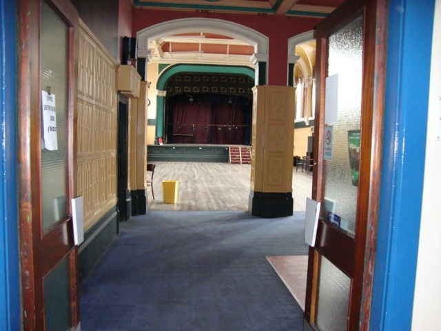 Looking into Main Hall