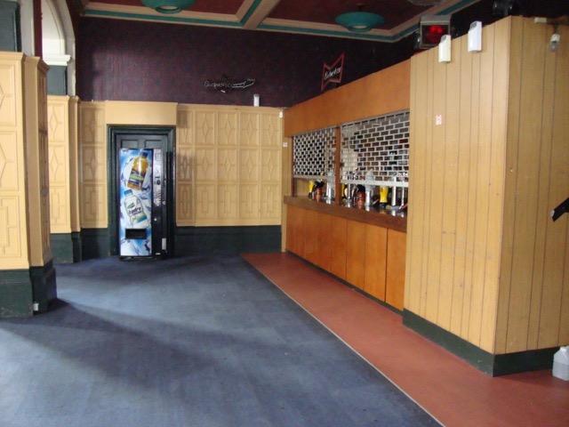 The Main Hall Bar Area