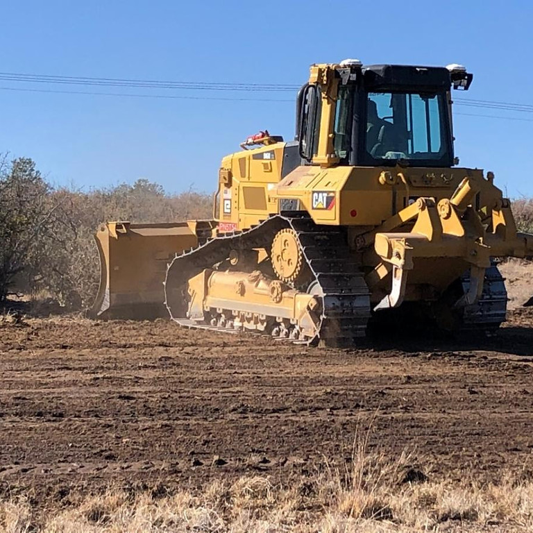Grading on the New Property has Begun!