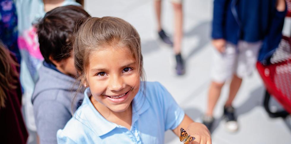 Kindergarten Butterfly Release