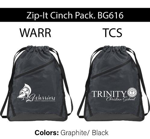 Zip-It Cinch Pack. BG616