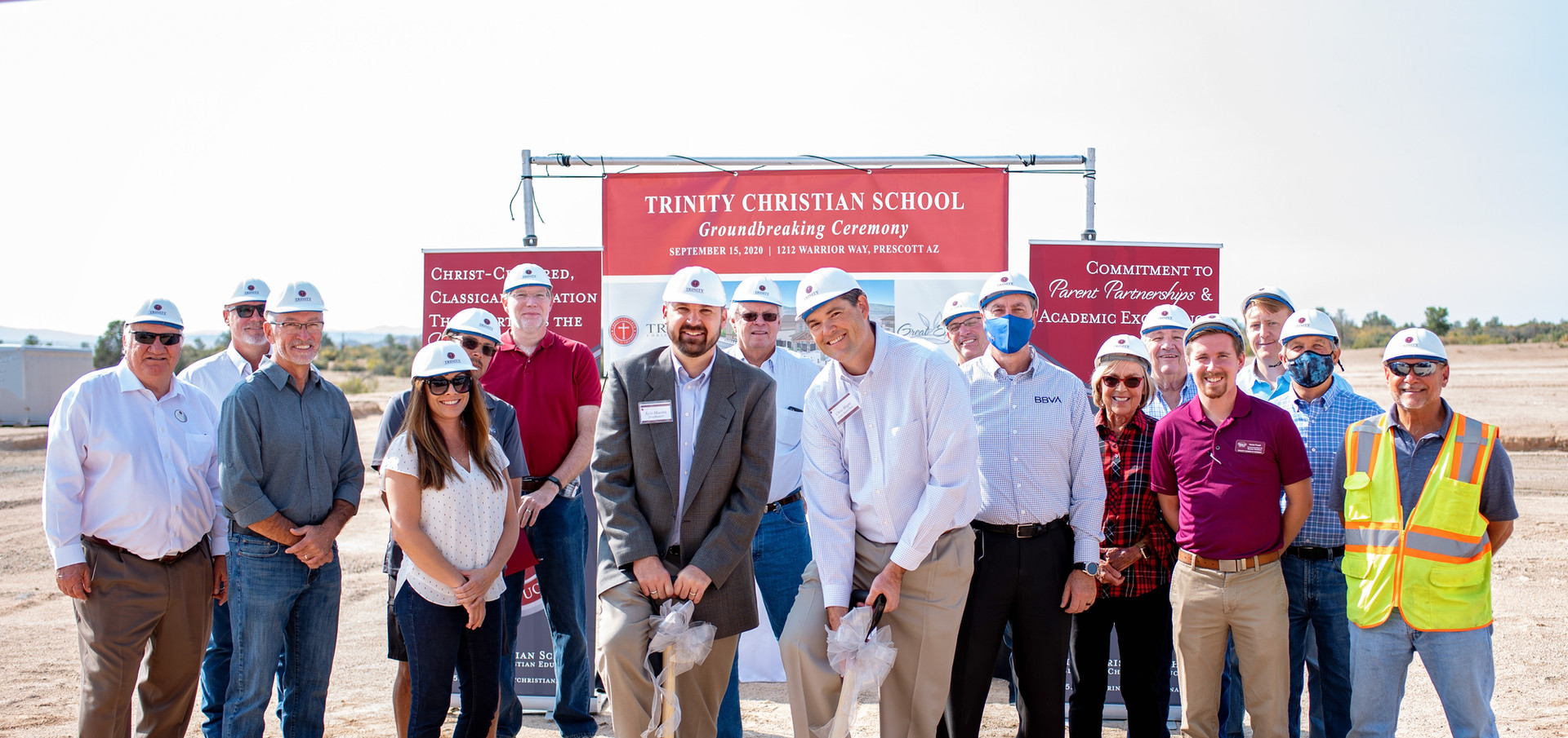 Groundbreaking for New Campus