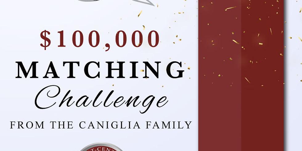 CANIGLIA FAMILY Matching Challenge